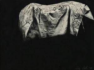 The Dark Horse II 1995 Etching 56 x 76cm (2)