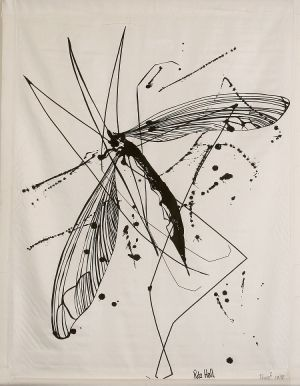 Cranefly 1979 Screen Print 103x80cm
