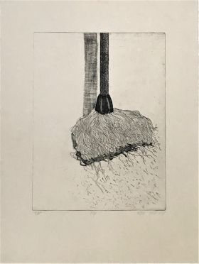 1. Mop 1977 76 x 56cm Etching