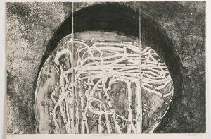 Coorong Rock 1977 Etching Image 50 x 76cm