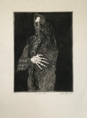Dark Room 1987 Etching 76 x 56cm