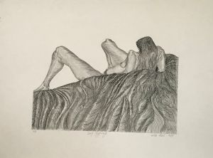 Early Pregnancy 1988 Etching 56 x 76cm