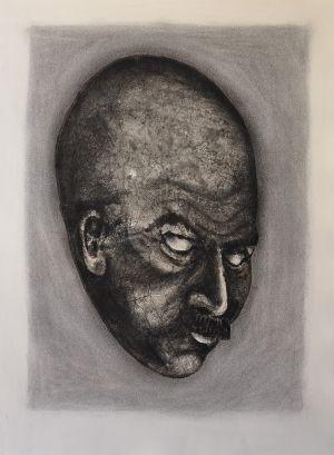 'With age comes wisdom - Sometimes' Age Wisdom  2012 Monotype 76x56cm