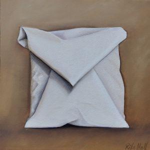 24. Primed Belgian Linen I Oil on Canvas 45 x 45cm