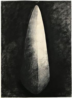 1.  Wedge 1991 Charcoal  76 x 56cm
