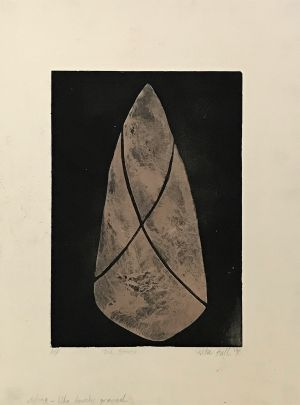 Tied Stone 1990 Etching 76 x 56cm