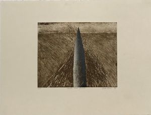 Mouth Flat Beach 1993 Etching and Collograph 56 x 76cm