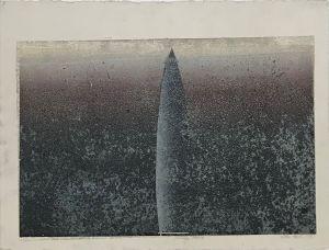Mungo Stone 1993 Relief Etching  56 x 76cm