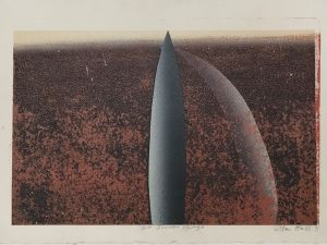 Two Icons 1993 Relief Etching 56 x 76cm