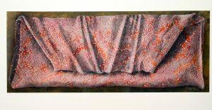 Swathed Light I 2002 53x130cm collograph gouache & pastel