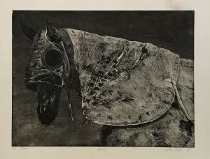 Hood 1st State  1995 Etching 56 x 76cm