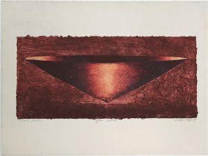 Copper Vessel 1999 Collograph 56 x 76cm (2)