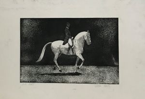 Skipped Steps 1997 First State Etching 56 x 76cm