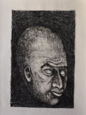 'Pankhurst' 2012 Monotype 76x56cm