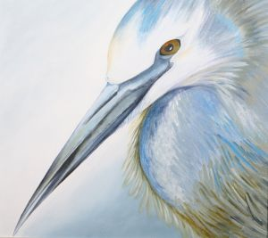26. White Faced Heron - DESTROYED
