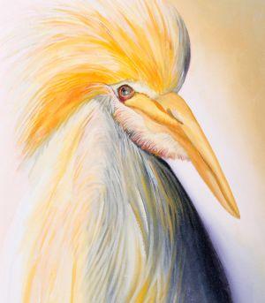 31. Cattle Egret - SOLD