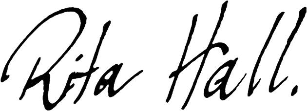 Rita Hall - Artist