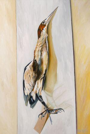 Bitten 2008 Oil on canvas 148x95cm