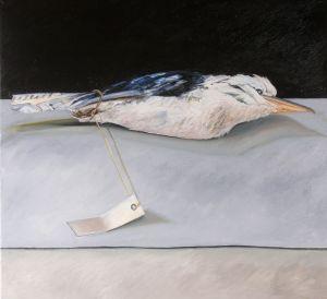 Kookaburra 2008 Oil on canvas 30x91cm